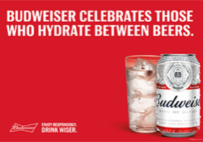 Drink Wiser with Budweiser